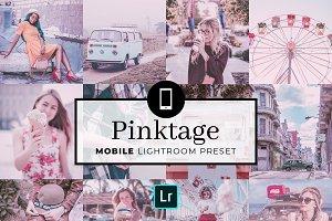 Mobile Lightroom Preset Pinktage