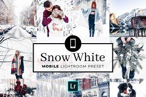 Mobile Lightroom Preset Snow White