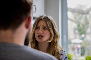 Couple having argue