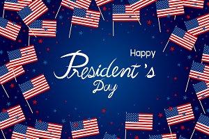 President's day design
