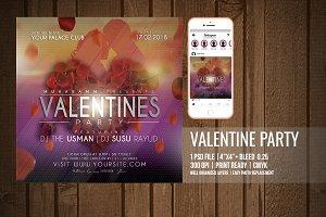 Valentine Flyer / Poster