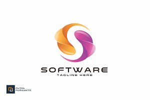 Software / Letter S - Logo Template
