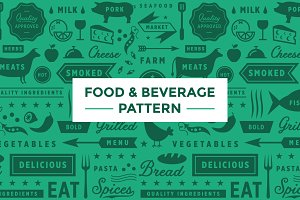 Food & Beverage Pattern