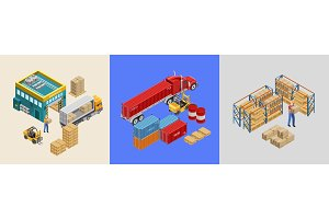 Illustration of work of storage