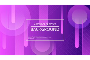Vector bright abstract background