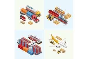 Various freight transport of