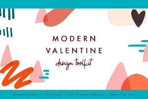 Modern Valentine - Design Toolkit
