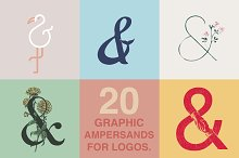 Graphic Ampersands for Logos Kit
