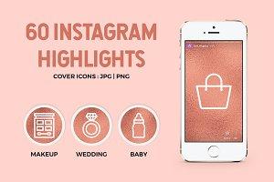60 Rose Gold Instagram Highlights