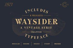 Waysider - A Vintage Serif