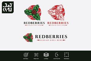 Red Berries Logo
