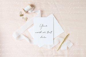 Wedding card Mockup - Stationery