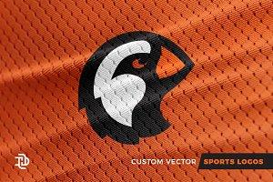 Puffin   Custom Sports Logo
