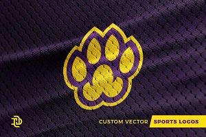 Paw   Custom Sports Logo