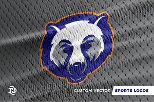 Bears   Custom Sports Logo
