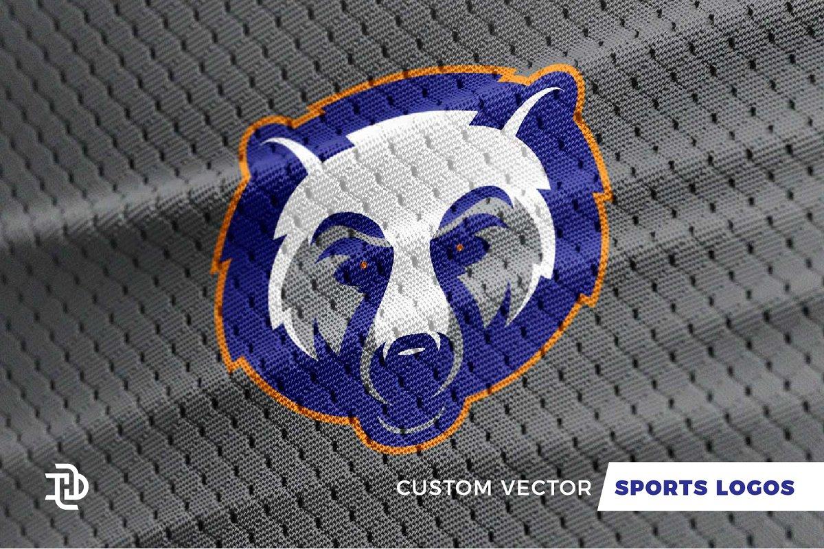 a79a1494a61 Bears | Custom Sports Logo