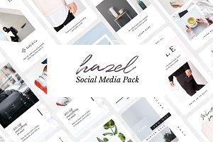 Hazel Social Media Pack