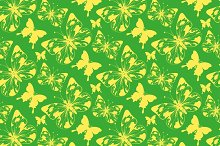 Wallpaper Pattern Butterfly