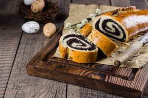 Easter Bakery Food Concept