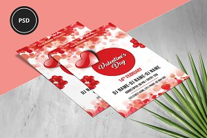 Valentines Day Party Flyer - V937