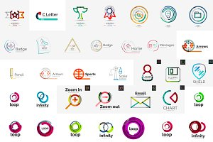 Great set of corporate logos