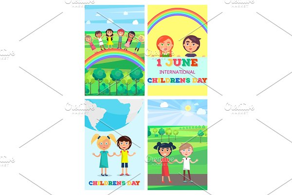 Children's Special Day Colorful