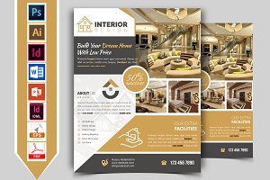 Interior Design Service Flyer Vol-01