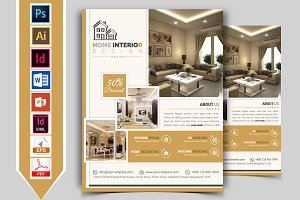 Interior Design Service Flyer Vol-02
