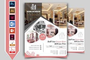 Interior Design Service Flyer Vol-03