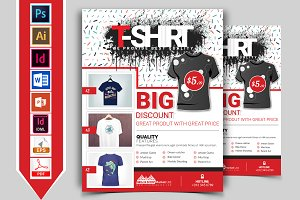 T-Shirt Promotional Flyer Vol-03