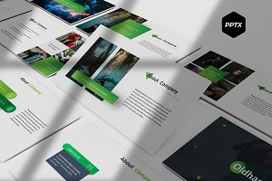 Oldham - Powerpoint Template