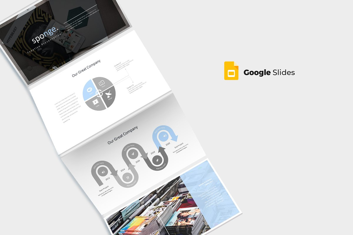 Sponge -  Google Slides Template