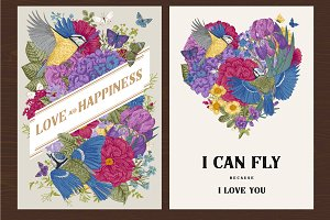 Greeting cards for Valentine's Day