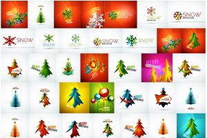 Jumbo set of Christmas designs