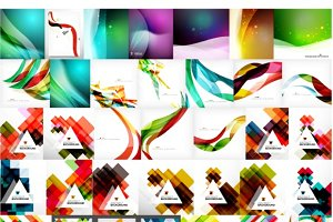 Universal geometric backgrounds set