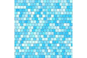 ceramic blue mosaic background
