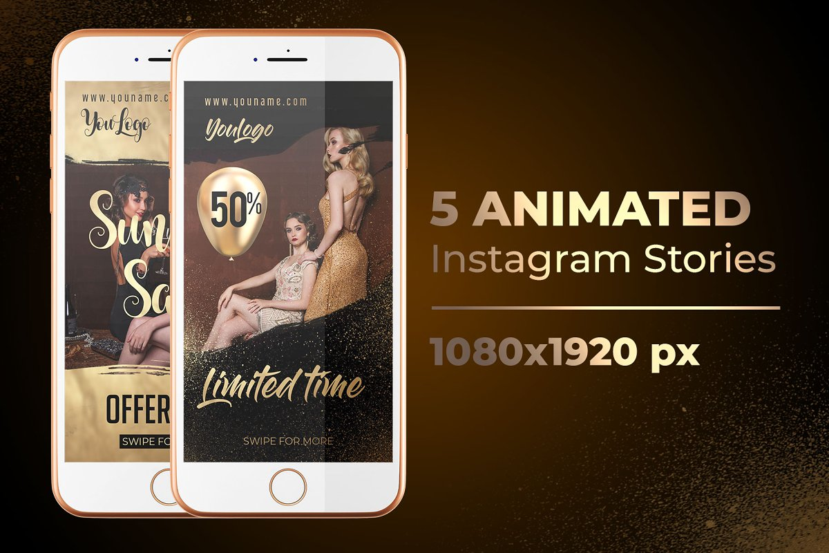 5 Animated Instagram Stories