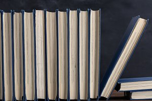 books with blue cover