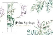 Palm Springs! Exquisite Watercolors!