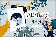 Valentine's Day Cards & Clip art