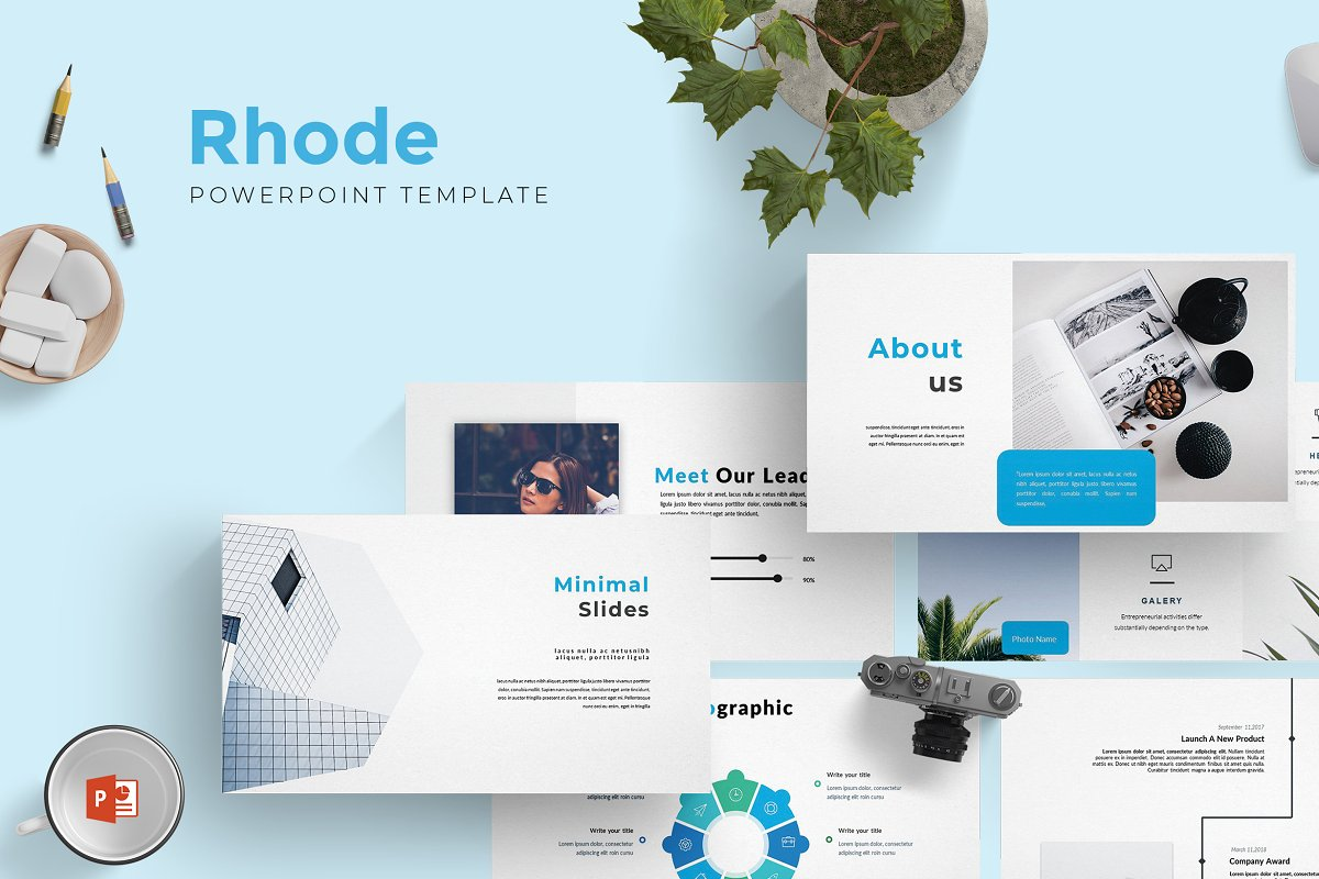 Rhode - Powerpoint Template