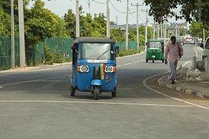 Tuktuk taxi Sri Lanka