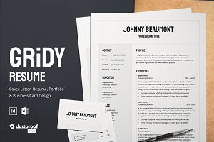 Gridy | Resume & Business Card