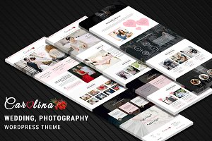 CAROLINA–Photography WordPress Theme