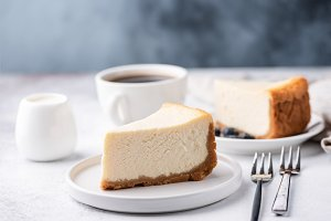 Classical New York Style Cheesecake