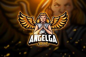 Angelga - Mascot & Esport Logo