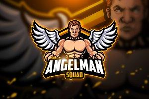 Angelman - Mascot & Esport Logo