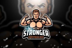 Bodybuilder - Mascot & Esport Logo
