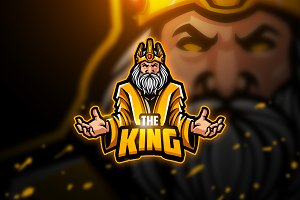 King - Mascot & Esport Logo