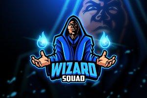 Wizard - Mascot & Esport Logo